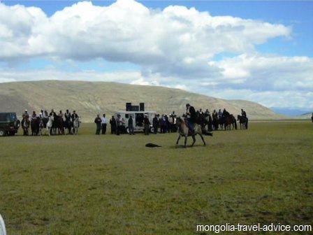 mongolia images: mongolian horseman