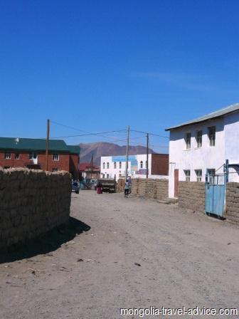 Backstreets Olgii west mongolia