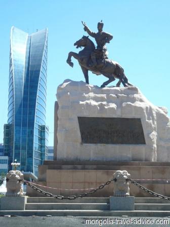 Images Mongolia sukhbaatar square