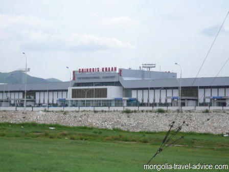 airports in Mongolia Chinggis Khan International