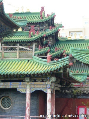 photos of Mongolia bogd khan palace museum
