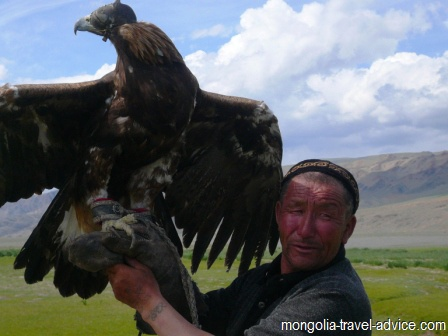 eagle hunting Bayan Olgii west Mongolia