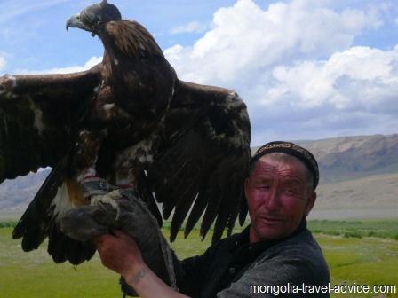 eagle hunting Bayan Olgii west Mongolia