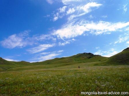 mongolia trekking hiking in Mongolia