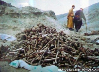 religion in mongolia purges
