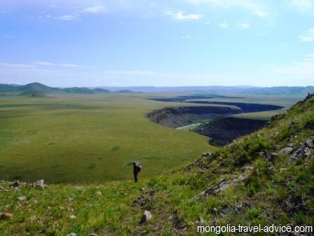 photos mongolia hiking central mongolia
