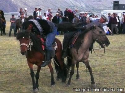 Buzakashi game western Mongolia