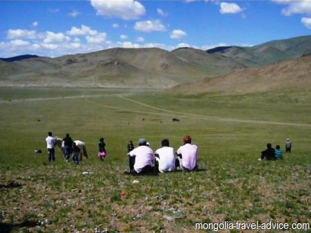 Naadam in Olgii west Mongolia