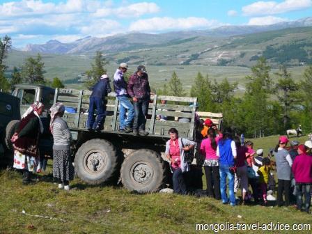 photos mongolia naadam festival
