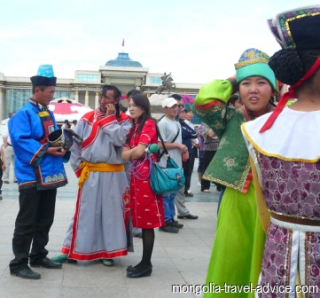 Mongolian naadam festival ulan bator