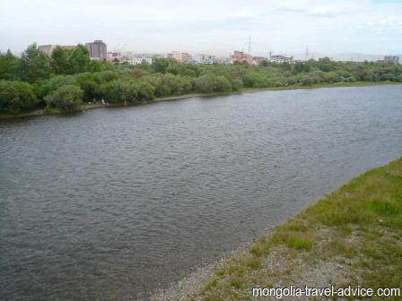 rivers mongolia tuul gol