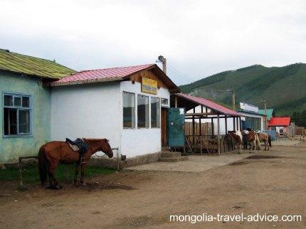 Terelj town Mongolia