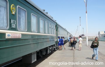 photos mongolia trans-siberian train
