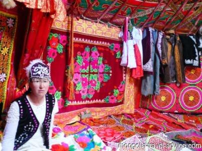 Kazakh handicrafts Bayan Olgii