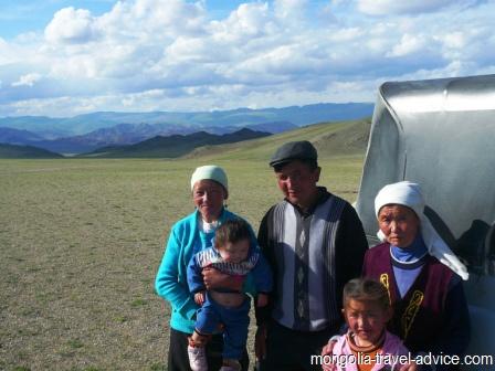 kazakh family western mongolia