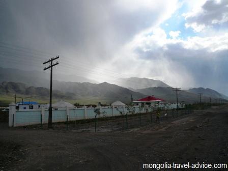 ulgii west mongolia storm