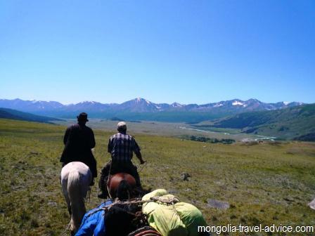 West Mongolia horse treks tavan bogd
