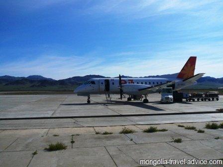 mongolia flights