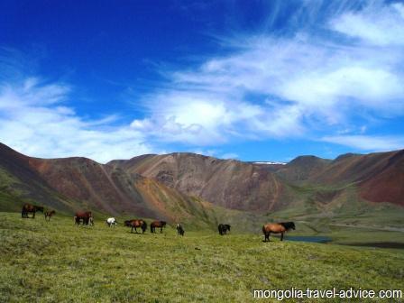 Hiking Altai Mountains Western Mongolia