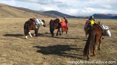 mongolia trekking: trekking in Mongolia