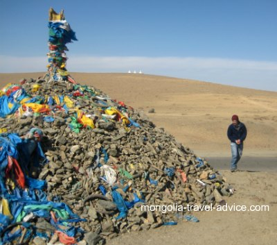 roadside Ovoo mongolia