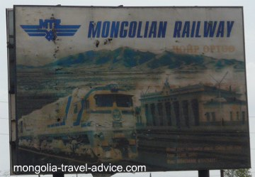 trans-siberian train sign