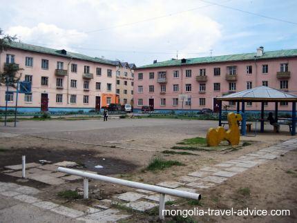 Ulan Bator empty square