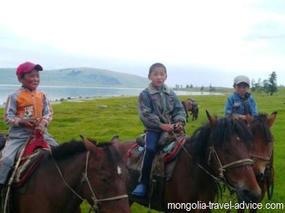 Khoton Nuur lake western mongolia